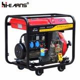Het luchtgekoelde Open van de Diesel van het Type van Frame Begin Terugslag van de Generator (DG6000)