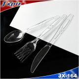 Plastikgabel-Messer und Löffel mit Qualitäts-Tischbesteck