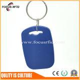 ABS van uitstekende kwaliteit RFID Keyfob met het Aantal Uid van de Laser