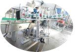分類のステッカー機械をスタックする自動正方形の瓶ガラスのびんの接着剤