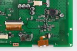 Intense luminosité, TFT LCD de la résolution 8 '' 1024*768 avec l'écran tactile résistif