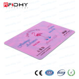 주문 크기 13.56MHz Natg203 RFID 서류상 지하철 표 카드