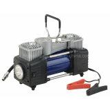 Compressor de ar para veículos automóveis/Insuflador do pneu com cilindro duplo com Manômetro Digital Modelo HD-506