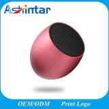 Haut-parleur stéréo portable Bluetooth sans fil Mini haut-parleur caisson de basses en aluminium avec carte son