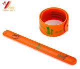 Wristband папы силикона браслета силикона печатание померанца 330*30*2mm Cmyk (YB-WT-5)