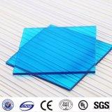 Panneau de serre en polycarbonate solide de couleur feuille de carte en plastique solide