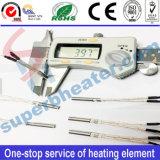 Elemento de calefacción industrial del calentador del cartucho de Desity del solo final alto
