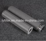 Varilla de Titan porosas sinterizadas cartucho de filtro de agua de titanio