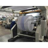 Rolo jumbo máquina de corte automático com carregamento Shaftless