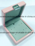Contenitore d'imballaggio di legno laccato MDF di anello di /Gift con la scheda del metallo