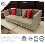 Meubles d'hôtel pour la salle de séjour avec le sofa de trois portées (YB-C-05)