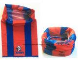 China-Fabrik-Erzeugnis passte Red&Blue Firmenzeichen gedruckten Microfiber Ski-Stutzen Tubies an