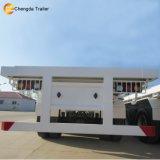 판매를 위한 평상형 트레일러 반 콘테이너 거위 목 모양의 관 트레일러