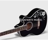 """Chitarra acustica del Basswood 40 di musica di Afanti """" (AAG-122)"""