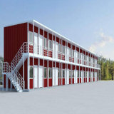 샌드위치 위원회를 가진 초록불 강철 모듈 건물