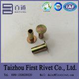 rebite Semi-Tubular principal liso chapeado zinco de 6.3X15.9mm L10 10-10