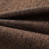 Полотно кофеего смотрит ткань занавеса ткани софы ткани драпирования поли Linen