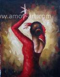 ホーム装飾のための傑作のダンスの女性油絵のFabianペレーズ再生