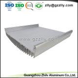 新しいデザインは建築材料のための銀製アルミニウムプロフィールを陽極酸化する