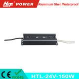 24V 6A impermeabilizan la fuente de alimentación del LED con las Htl-Series de RoHS del Ce