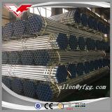 Mittlere Aufgabe BS1387 verlegt mit Kontaktbuchsen dem heißen BAD galvanisiert ringsum Stahlrohre