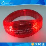 먼 통제되는 RGB 색깔 번쩍이는 LED 가벼운 실리콘 소맷동