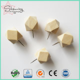 Bulk 20*25mm 14 Facted Ball Wood Head Thumb Tack