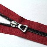 Vários Custom Tampa de nylon de cadeia longa Zipper