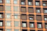Энергосберегающее окно ролика, алюминиевая штарка ролика