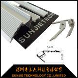 Oberfläche eingehangenes LED-Treppen-Jobstepp-Beleuchtung-Aluminium-Profil