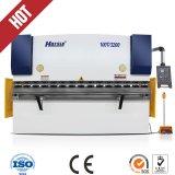 Aceptada la marca Harsle Wc67S-400*2500 placa hidráulica CNC Máquina de flexión