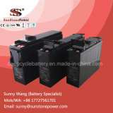 batterie exempte d'entretien de gel de batterie d'acide de plomb de SLA 12V scellée par tension