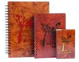 カスタムペーパー演習帳、螺線形のオルガナイザーのノート