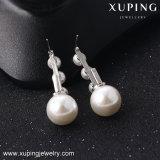 Neuer Form Rhoudium Perlen-Schmucksache-Ohrring der Ankunfts-E-42