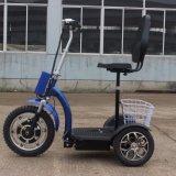Motorino elettrico pieghevole di mobilità 3-Wheel dell'adulto 500W con Ce