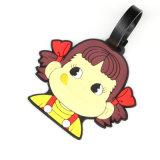 Matériel de conception personnalisée Princesse colorés Luggage Tag PVC Souple