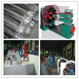 Горизонтальные 48 перевозчик L оплетки проводов машины для металлических шланг