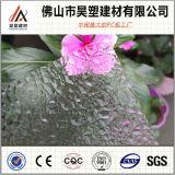 Hoja plástica grabada policarbonato del producto del precio de descuento