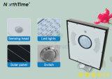 公園の経路のためのPIRセンサーの時間制御の自動感知の太陽ランプ
