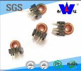 Inducteur toroïdal de faisceau de ferrite de qualité d'inducteur de 6 bornes
