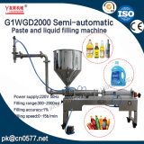 Semi-automático pastosos e líquidos máquina de enchimento para manteiga Penut (G1WGD2000)