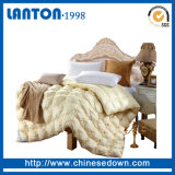 High quality premium hotly White/Grey/Gray duck down Quilt for winters