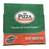 자신의 로고 인쇄를 가진 주문품 크기 피자 상자