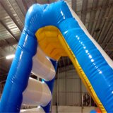 Wholesale Cheap Price Inflatable Floating Triangle Water Slide Floating