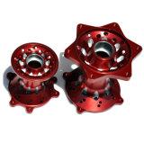 アルミニウム高いQuatityのCNCによって機械で造られる車輪ハブ