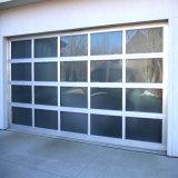 Un style moderne en verre de coupe automatique pour la Maison de construction de porte de garage