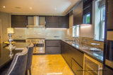 Luxury Classic Style Gold Tempered Glass for Kitchen Splashback