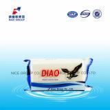 La marque 138g de Diao jaillissent blanchissant le savon de blanchisserie avec le bon parfum