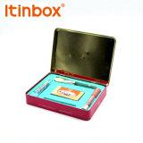 スポンジの皿が付いている携帯電話のパッケージボックスをカスタム設計しなさい