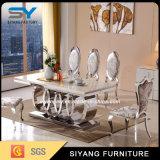 Mobiliário de aço inoxidável banquetes Mesa de jantar mesa de jantar para o Hotel
